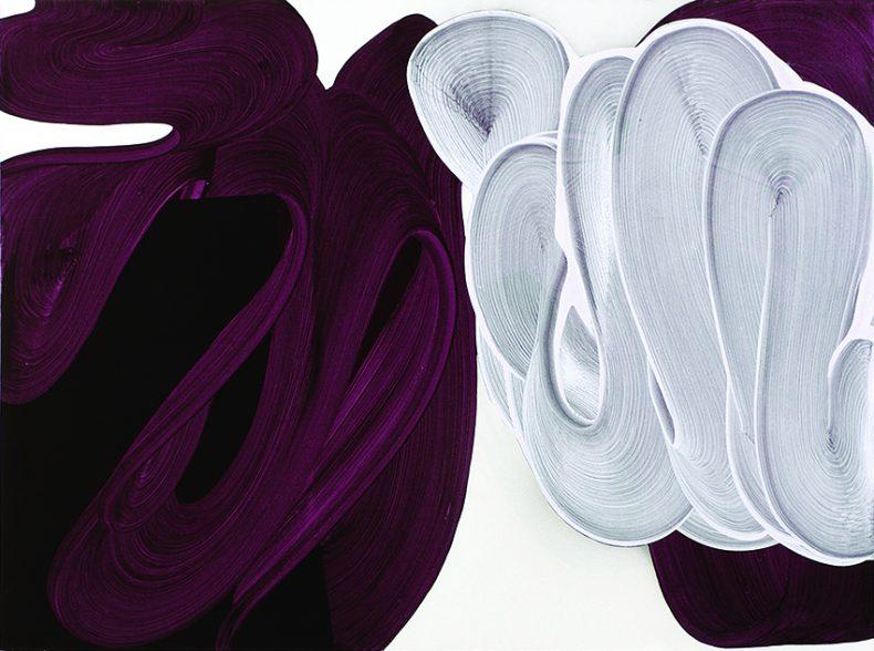Punku, 2011, Acrílico sobre tela, 97x130 cm