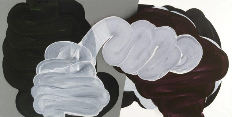 Horisontale Draaikolk, 2011, Acrílico sobre tela, 100×200 cm
