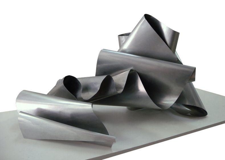 ST, 2010, Zinc, 62x103x90 cm