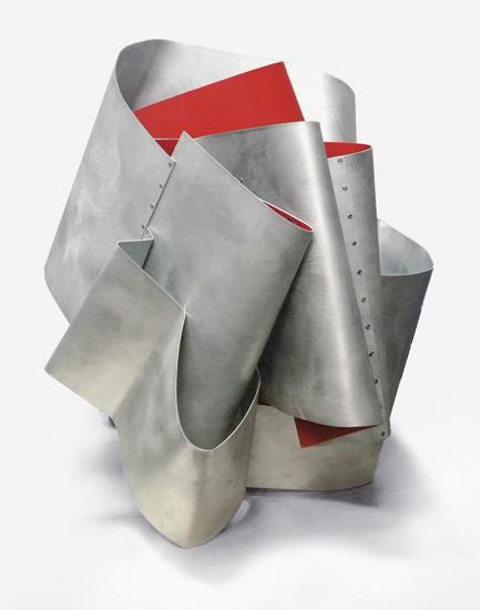 Dimoniet, 2012, Esmalte sobre aluminio, 68x65x58 cm
