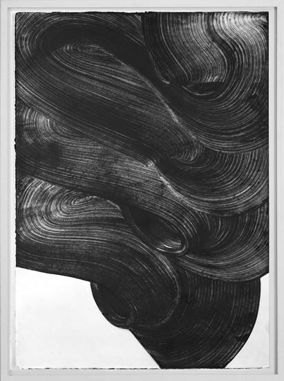Graphein V, 2013, Grafito sobre papel, 70x50 cm