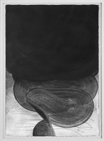 Graphein VI, 2013, Grafito sobre papel, 70x50 cm