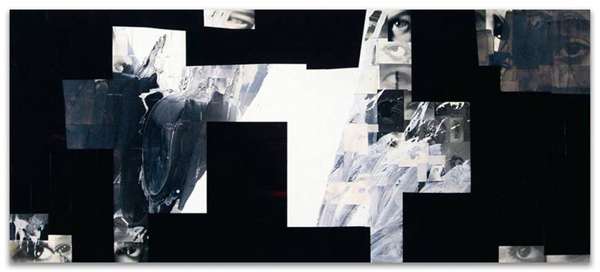 A Través De La Ventana, 1994-2004, Acrílico, óleo y fotografía