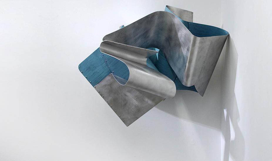 Methuselah, 2014, Esmalte sobre aluminio, 70x100x80 cm
