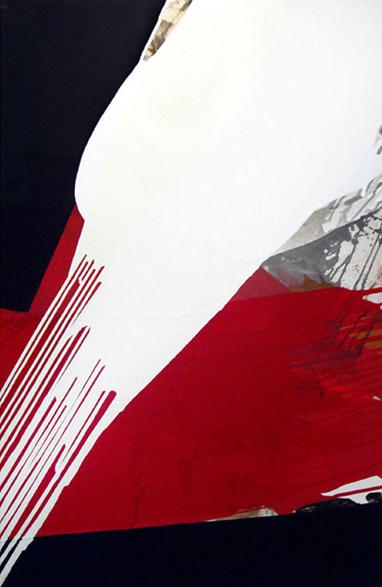 S.T., 2003, Acrílico y grafito sobre tela, 120 x 80 cm c.u.