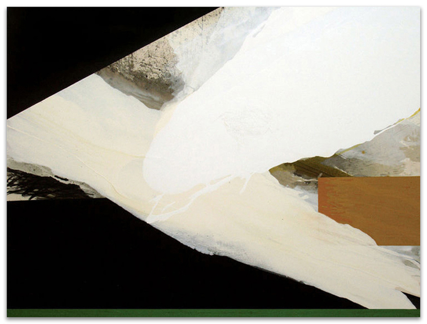 S.T., 2003, Acrílico, óleo y grafito sobre tela, 150x200 cm