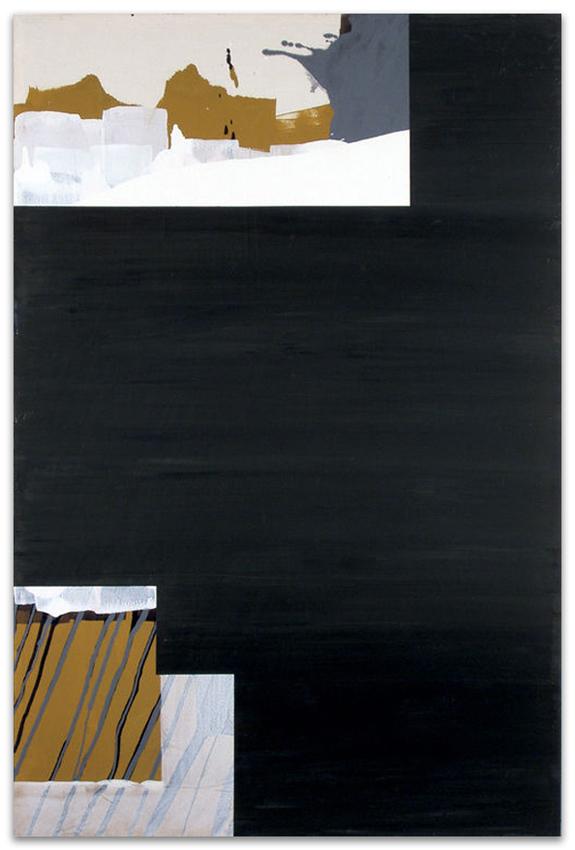 Día Gris, 2004, Acrílico y óleo sobre tela, 150x100 cm