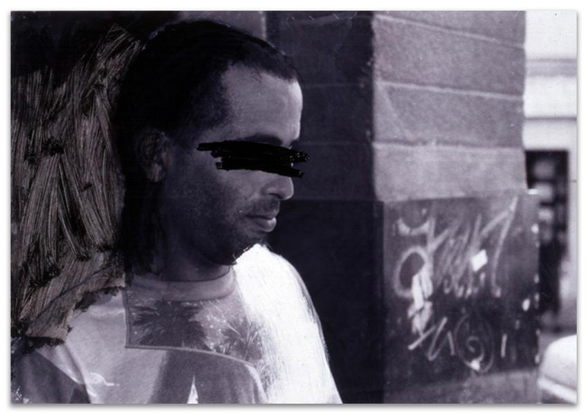 Hogar Dulce Hogar, 2002, Fotografía Y óleo sobre tabla, 42x61 cm