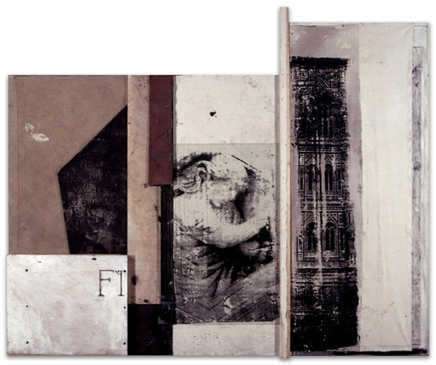 Firenze, 1997, Técnica mixta, 185x226 cm