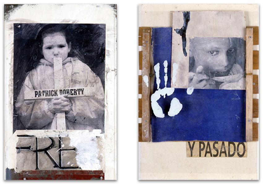 Free; Durante Todo El Día, 1999, Técnica mixta, 57x36 cm