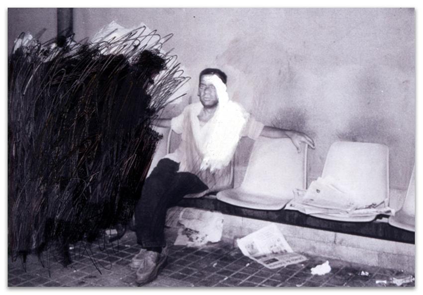 Hogar Dulce Hogar, 2002, Fotografía, acrílico, óleo y grafito