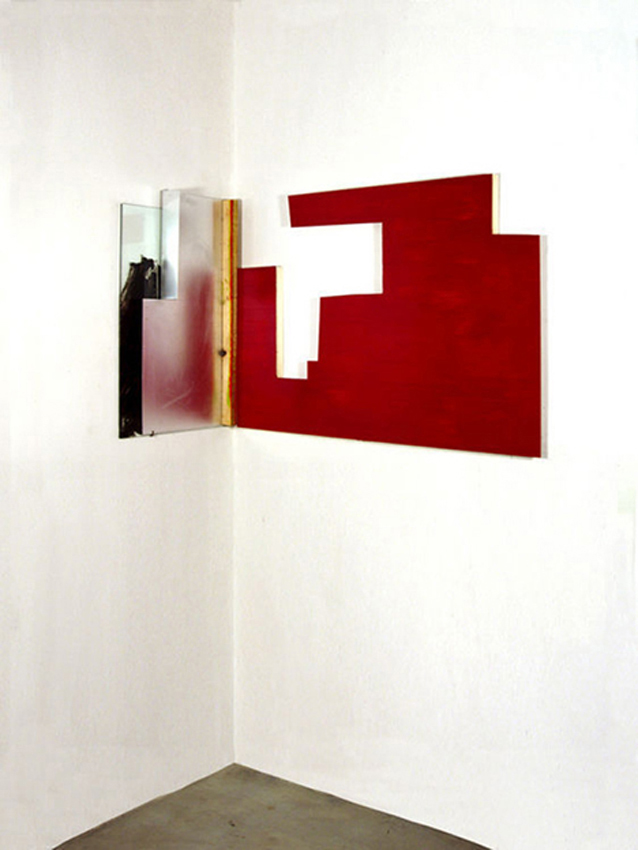 Noche Roja, 2004, Técnica mixta, 64x90x38 cm / Colección particular