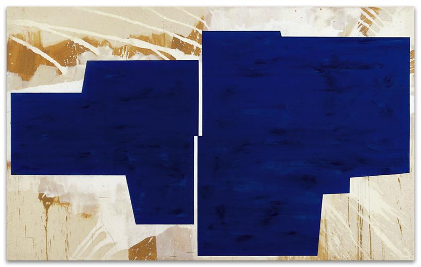 Oikos, 2004, Acrílico y óleo sobre tela, 150x240 cm