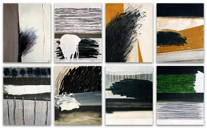 S.T., 2002, Acrílico y óleo sobre tela
