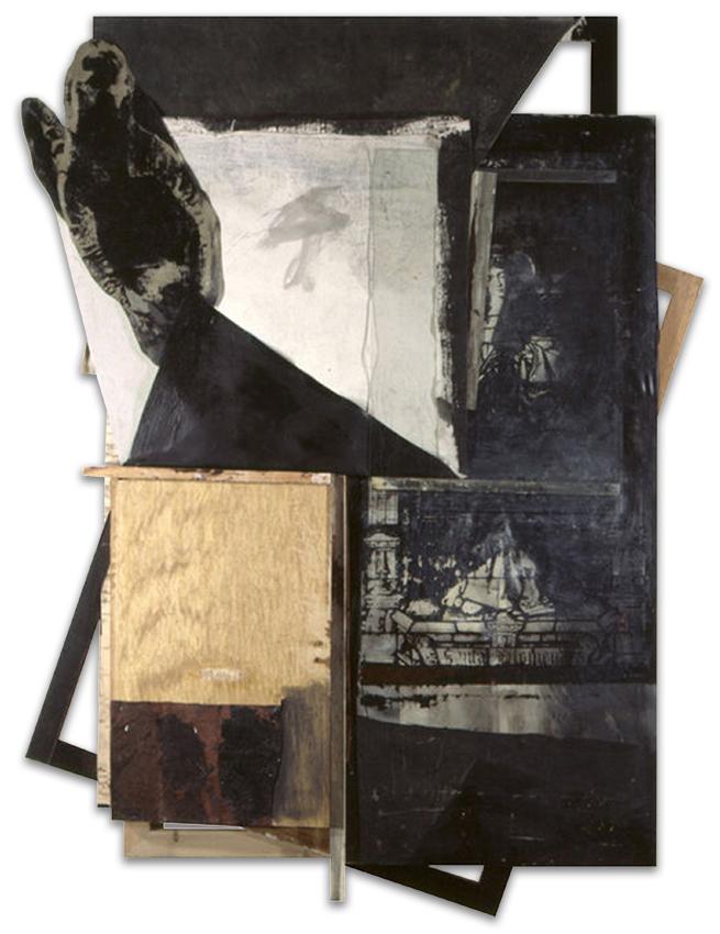 Santa Filomena, 1997, Técnica mixta, 244x185 cm