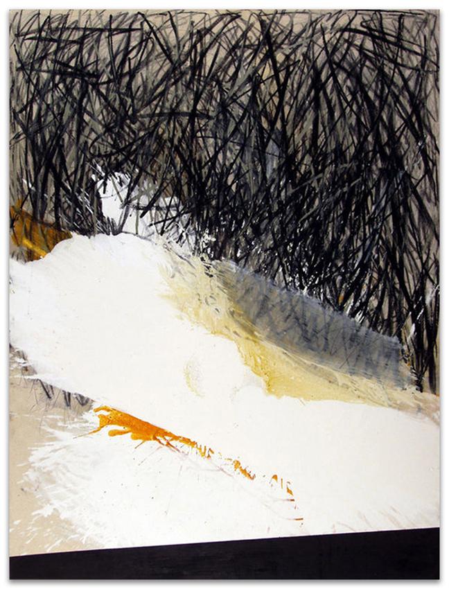 S.T., 2002, Acrílico y óleo sobre tela, 200x150 cm