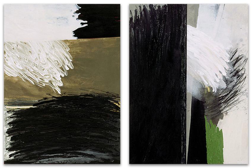 S.T., 2002, Acrílico y óleo sobre tela, 100x73 cm c.u.