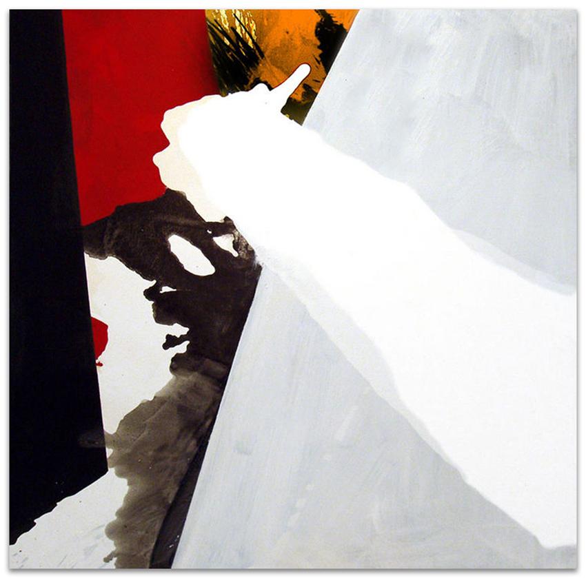 S.T., 2002, Acrílico y grafito sobre tela, 145x145 cm / Colecci