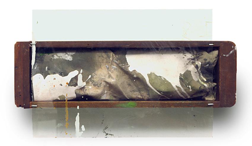 S.T., 2003, Técnica mixta, 21x36x10 cm / Colección particular
