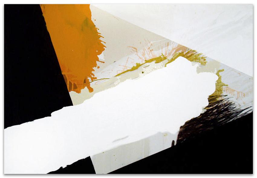 S.T., 2002, Acrílico, óleo y grafito sobre tela, 120x180 cm