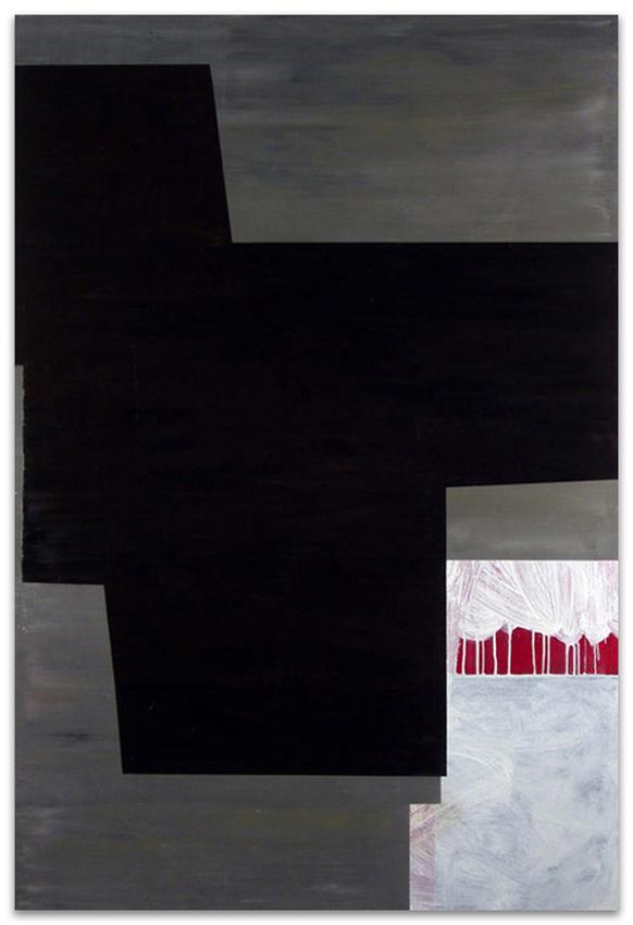 Urban, 2004, Acrílico y óleo sobre tela, 180x120 cm