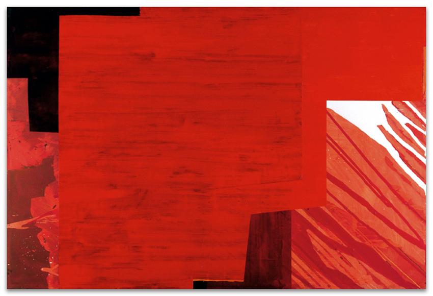 Síndrome Urbano, 2004, Acrílico y óleo sobre tela, 120x180 cm